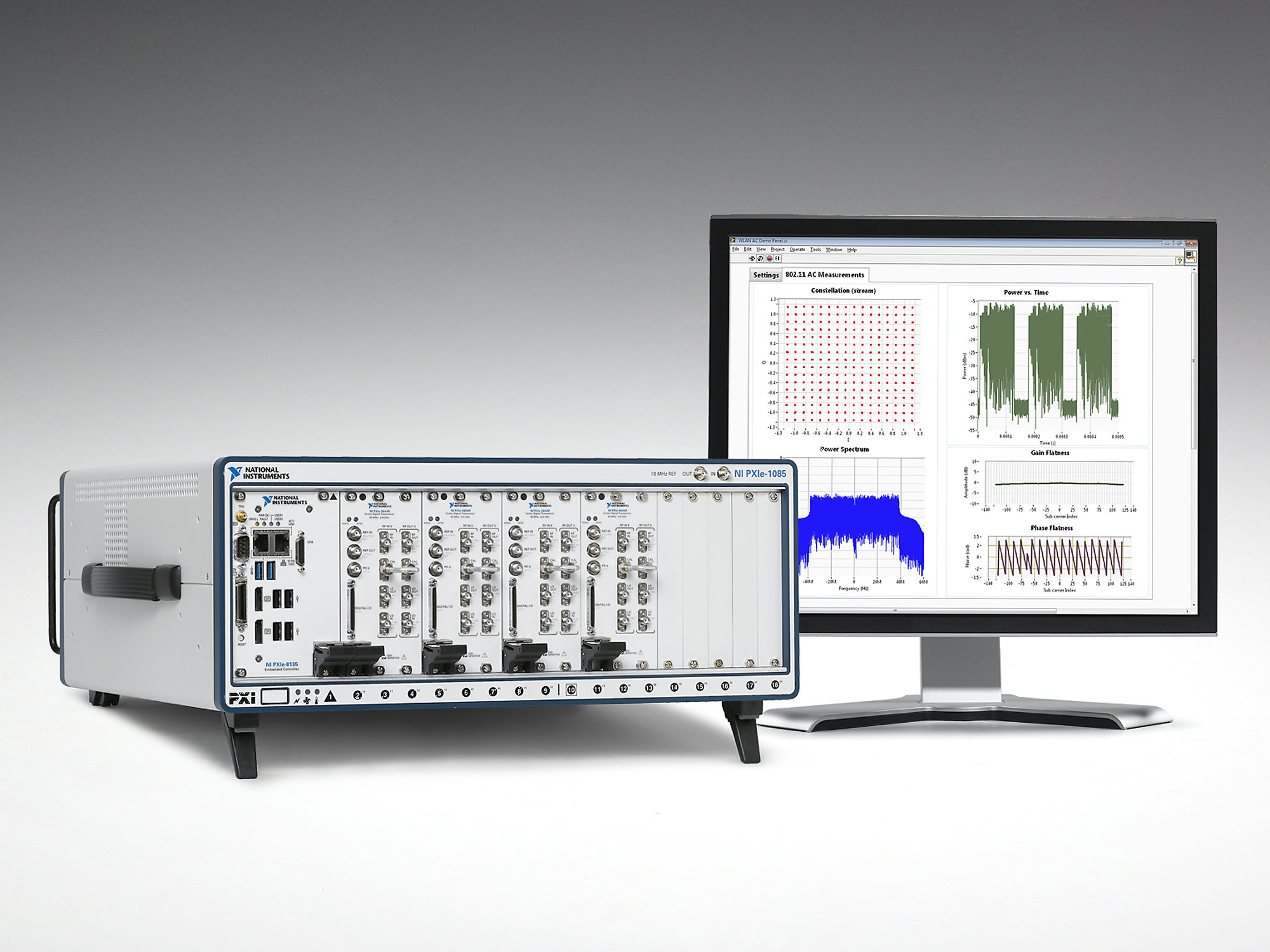 Automated test instruments from NI