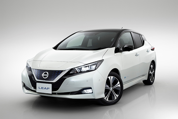 5-star Japanese safety rating for the Nissan Leaf EV