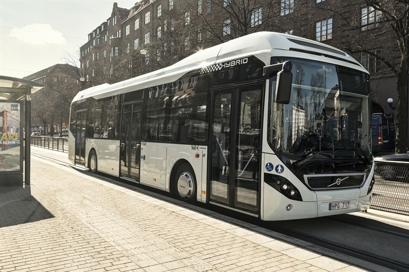 50 hybrid buses from Volvo make their way to Singapore streets