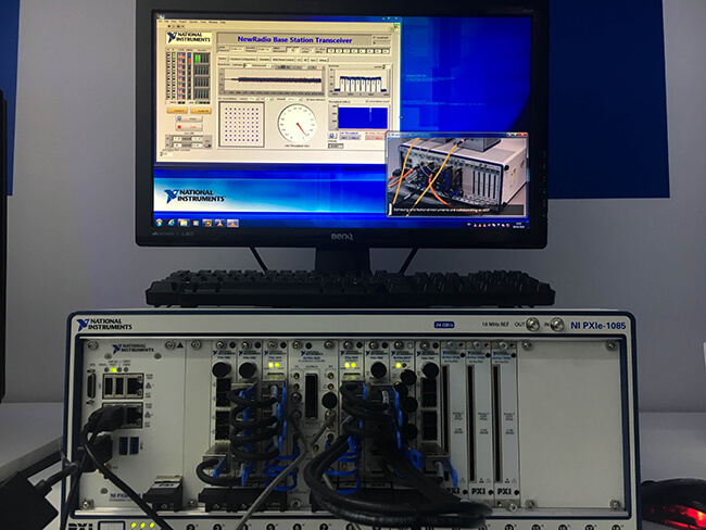 5G New Radio test reference platform