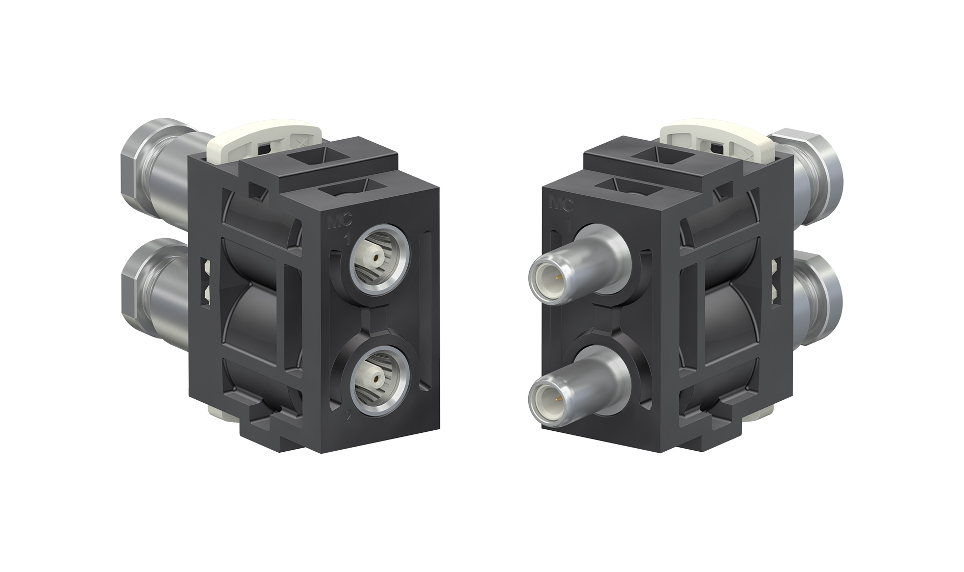 6 GHz coaxial modules for the CombiTac connector system