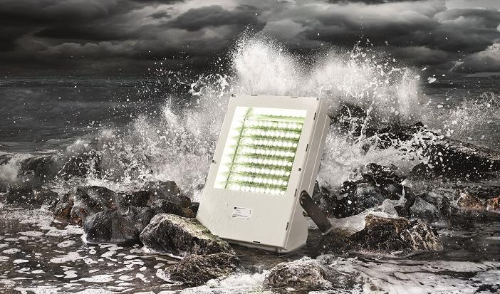 6125 series LED floodlights for hazardous areas