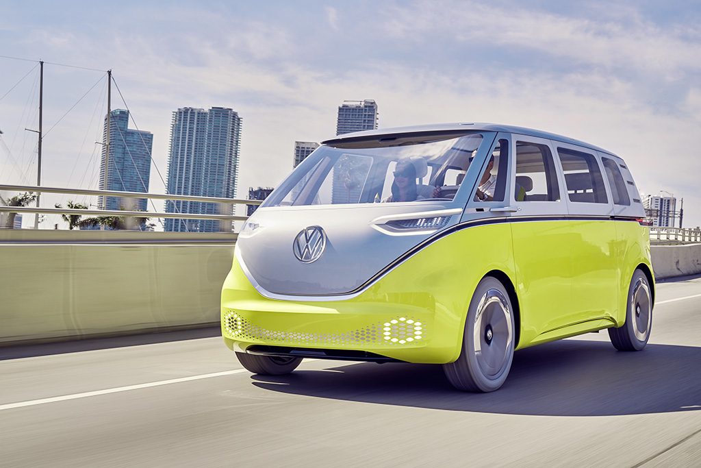 AI embedded into the Volkswagen ID BUZZ camper van