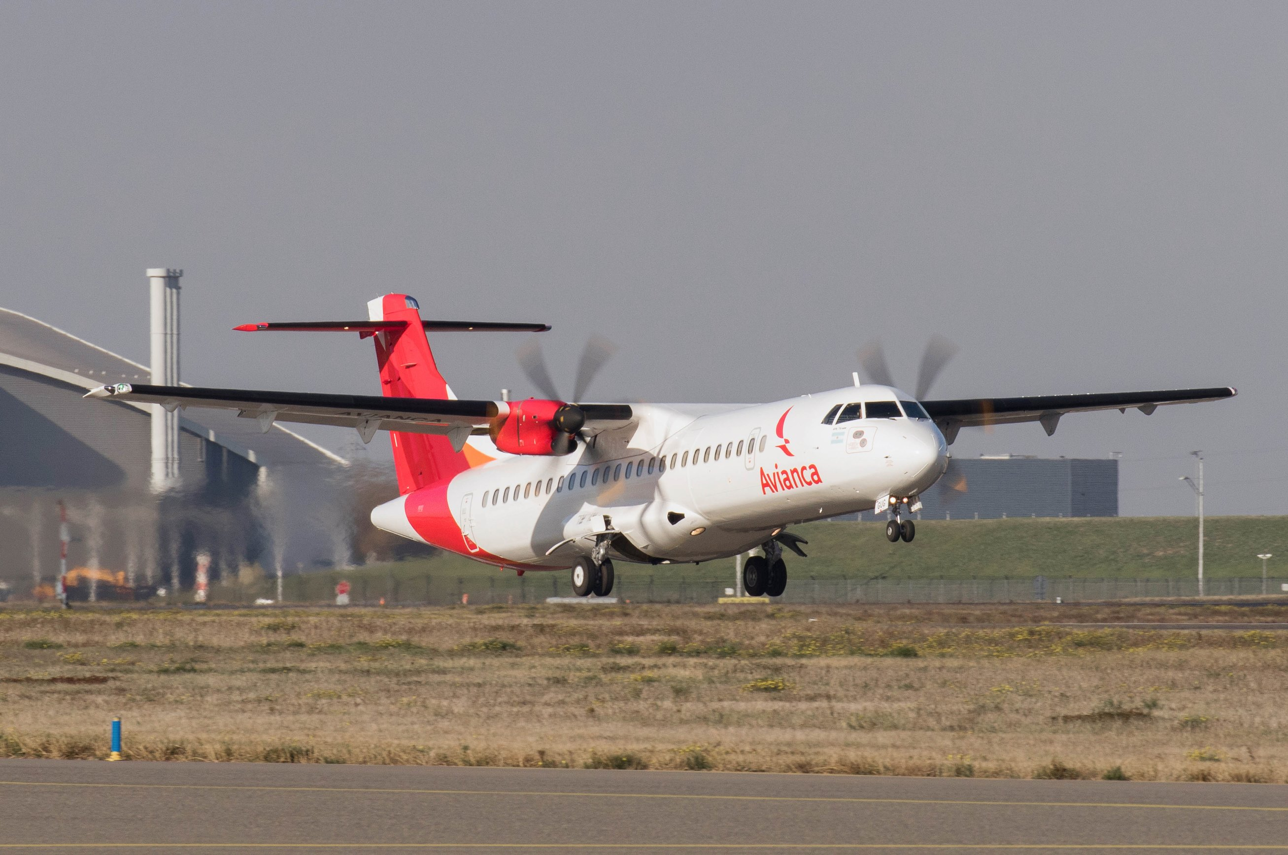 ATR 72-600 turboprop regional aircraft