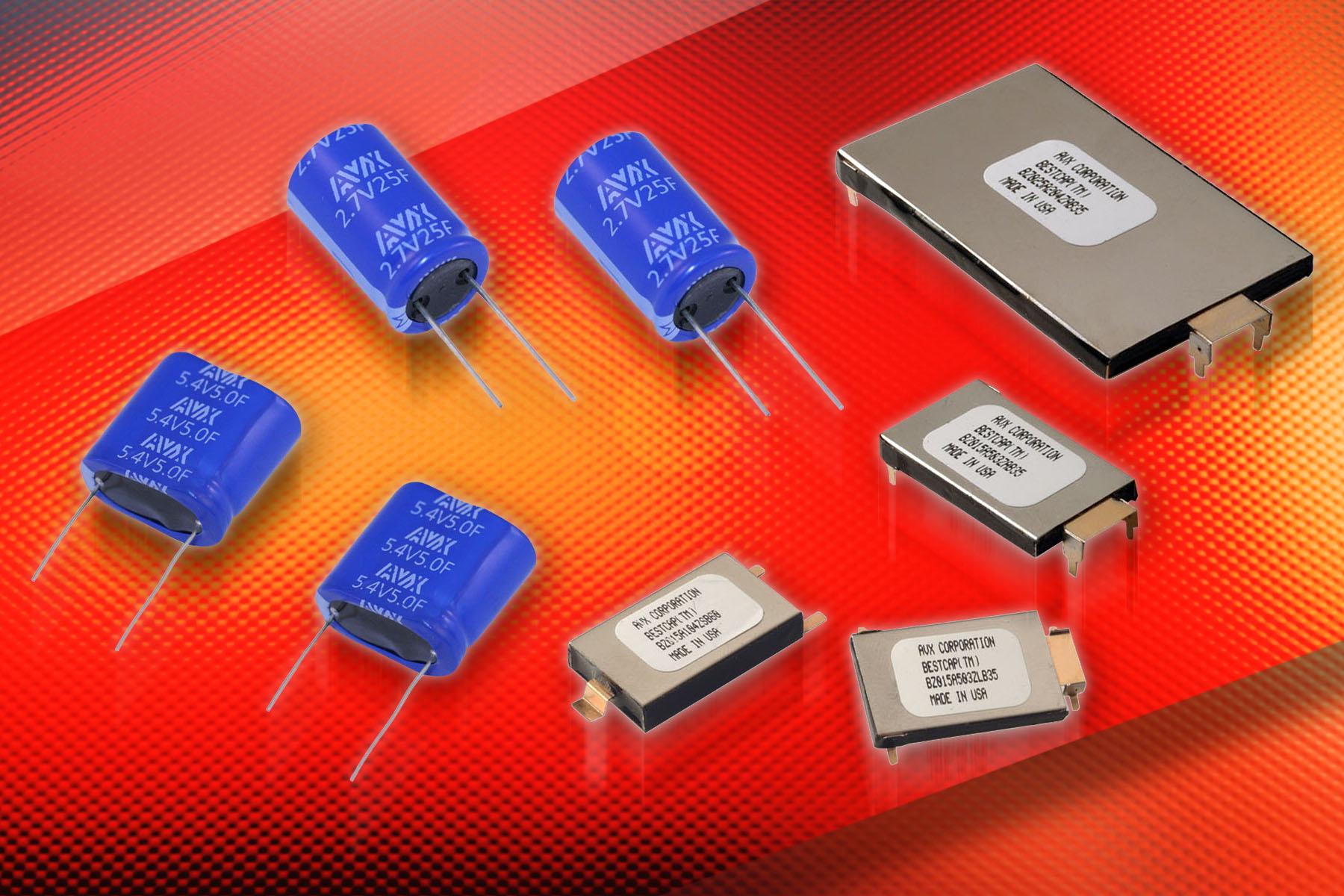AVX Supercapacitors