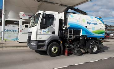 Aberdeen Hydrogen Dual Fuel Road Sweeper