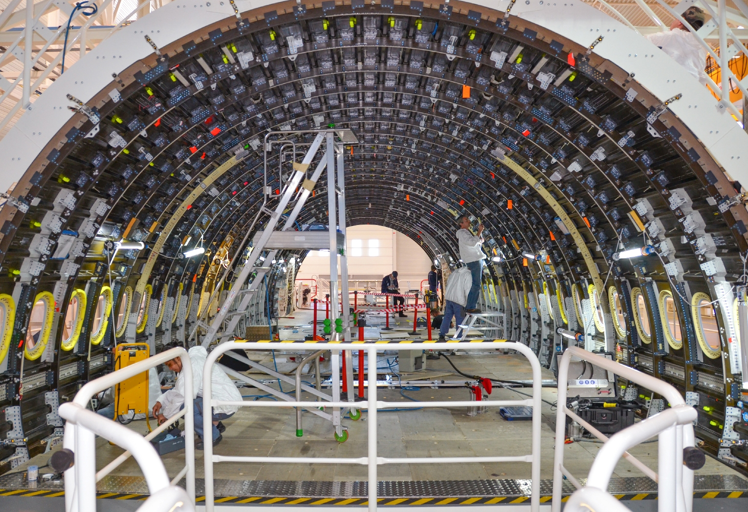 Airbus A350 Central Section