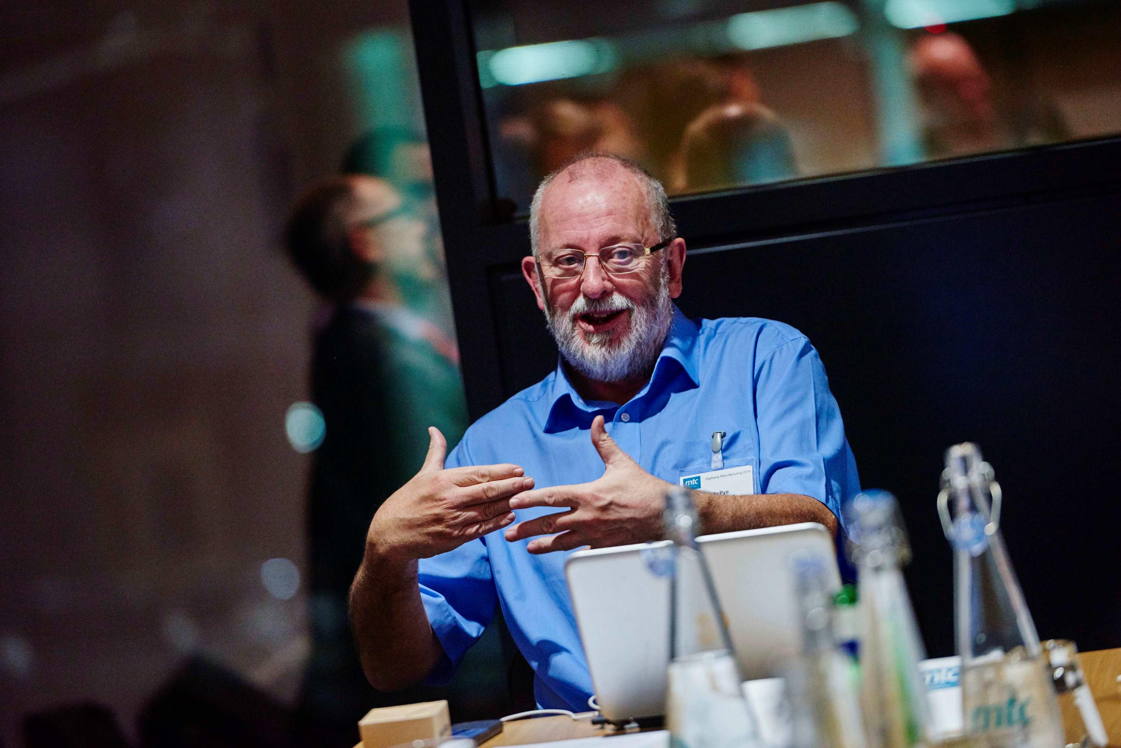 Andy Pye moderates debate on digital manufacturing