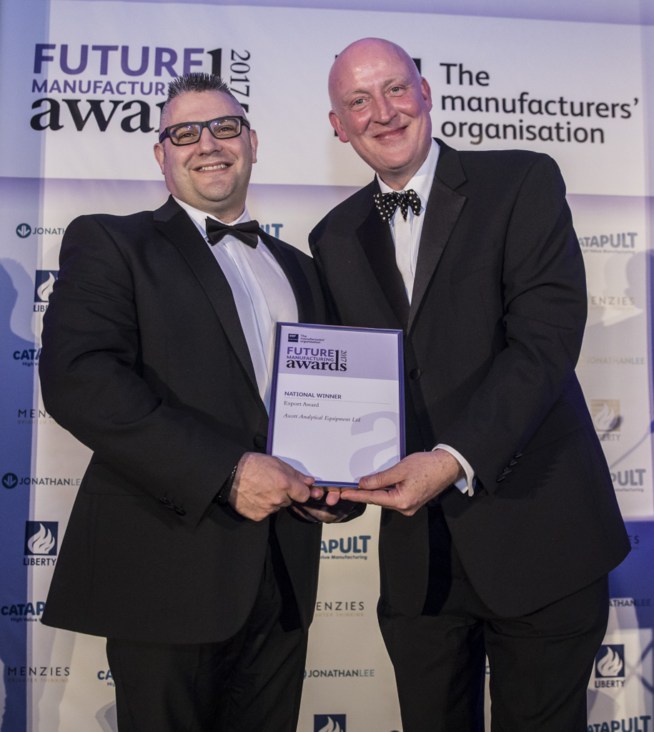 Ascott Analytical Equipment at the EEF National Awards Ceremony 2018