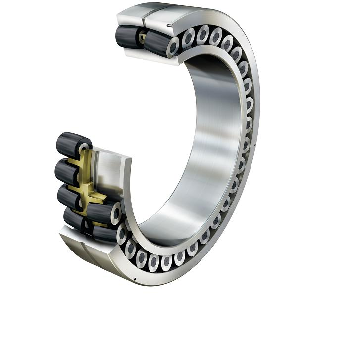 Asymmetric bearing optimised for wind energy