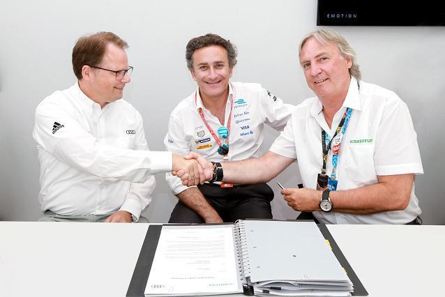 Audi powertrain development agreement reached