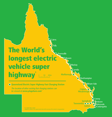 Australian EV super highway
