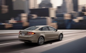 Auto stop and go technology on 2017 Ford Fusion Platinum