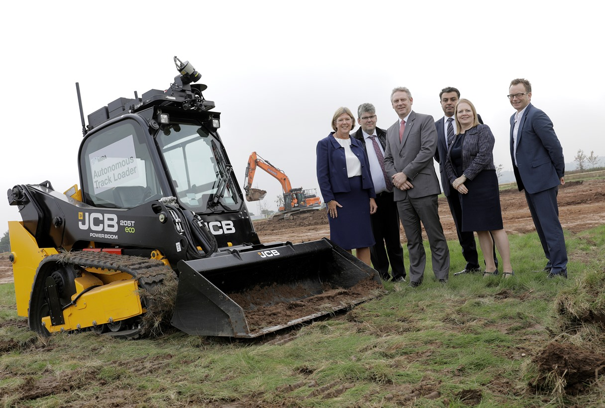 Autonomous JCB breaks ground at new technical centre
