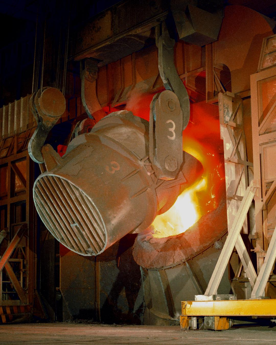 Bearing condition monitoring at steel plant