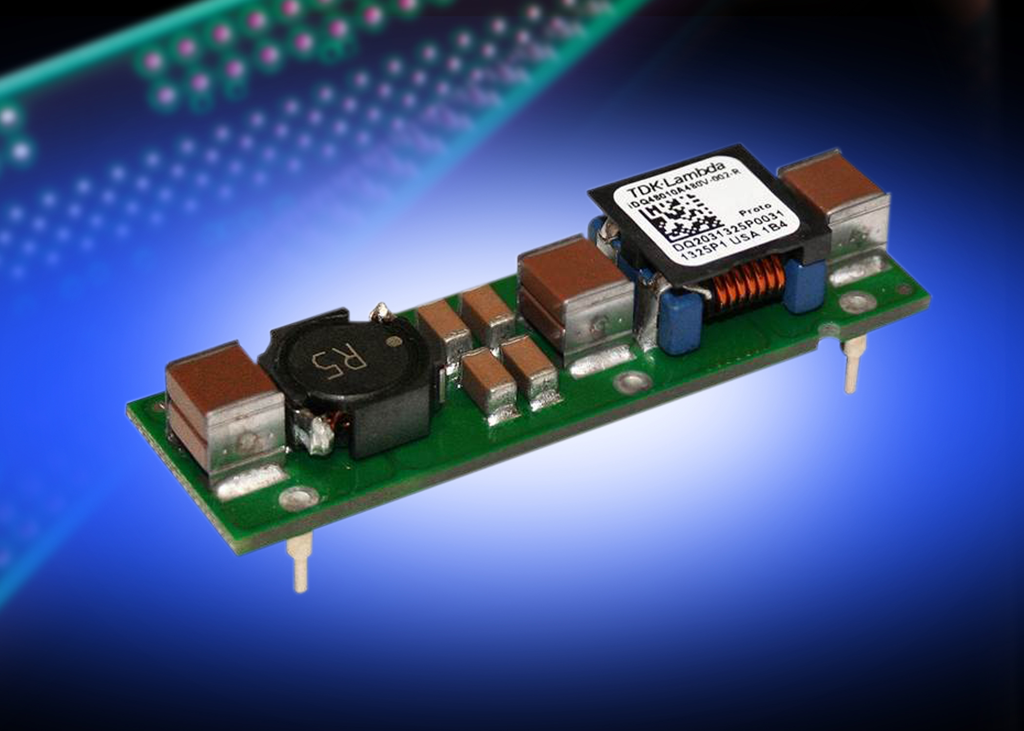 Board mounted EMC filter