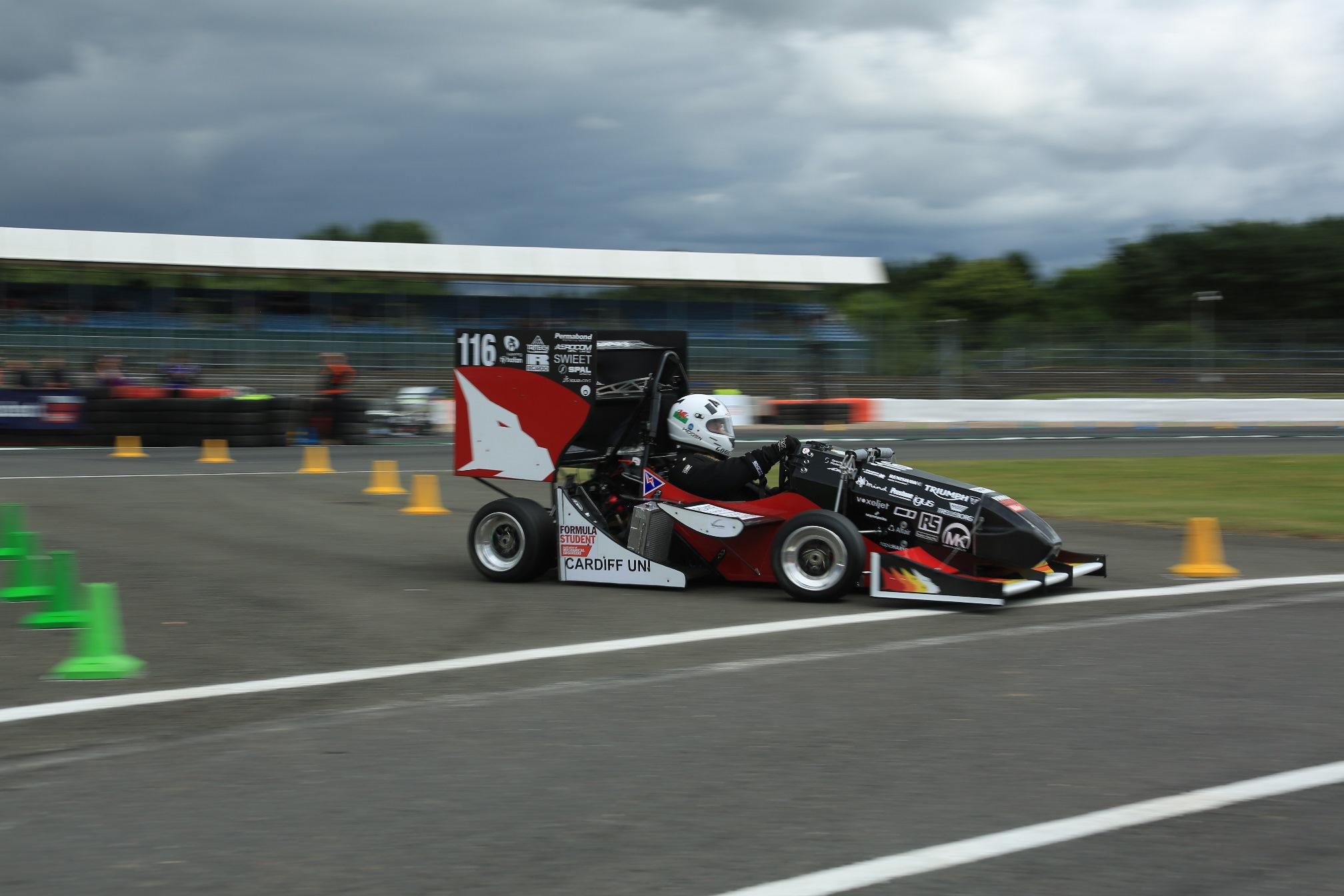 Cardiff University formula student racing