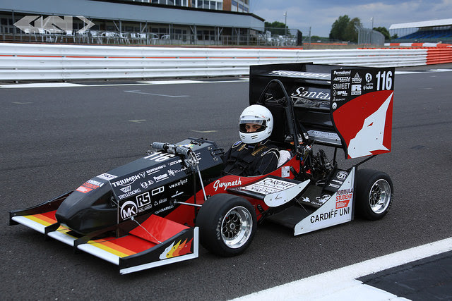 Cardiff University won the 2017 Formula Student event