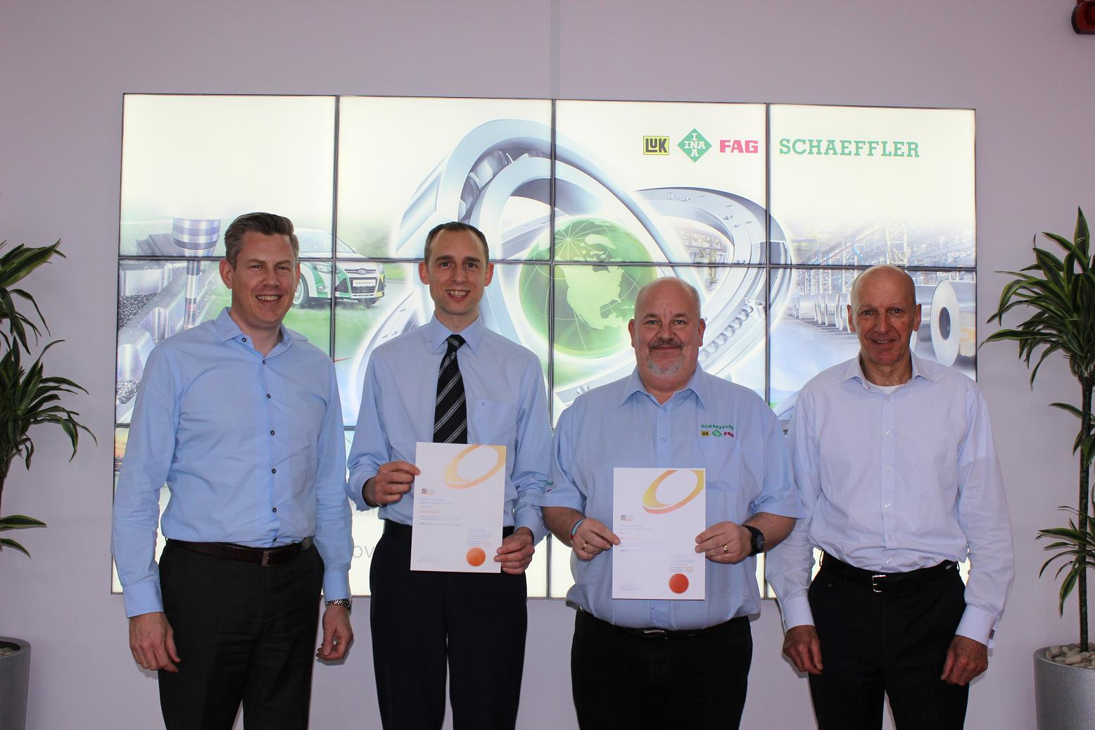 Certification for Schaeffler engineers