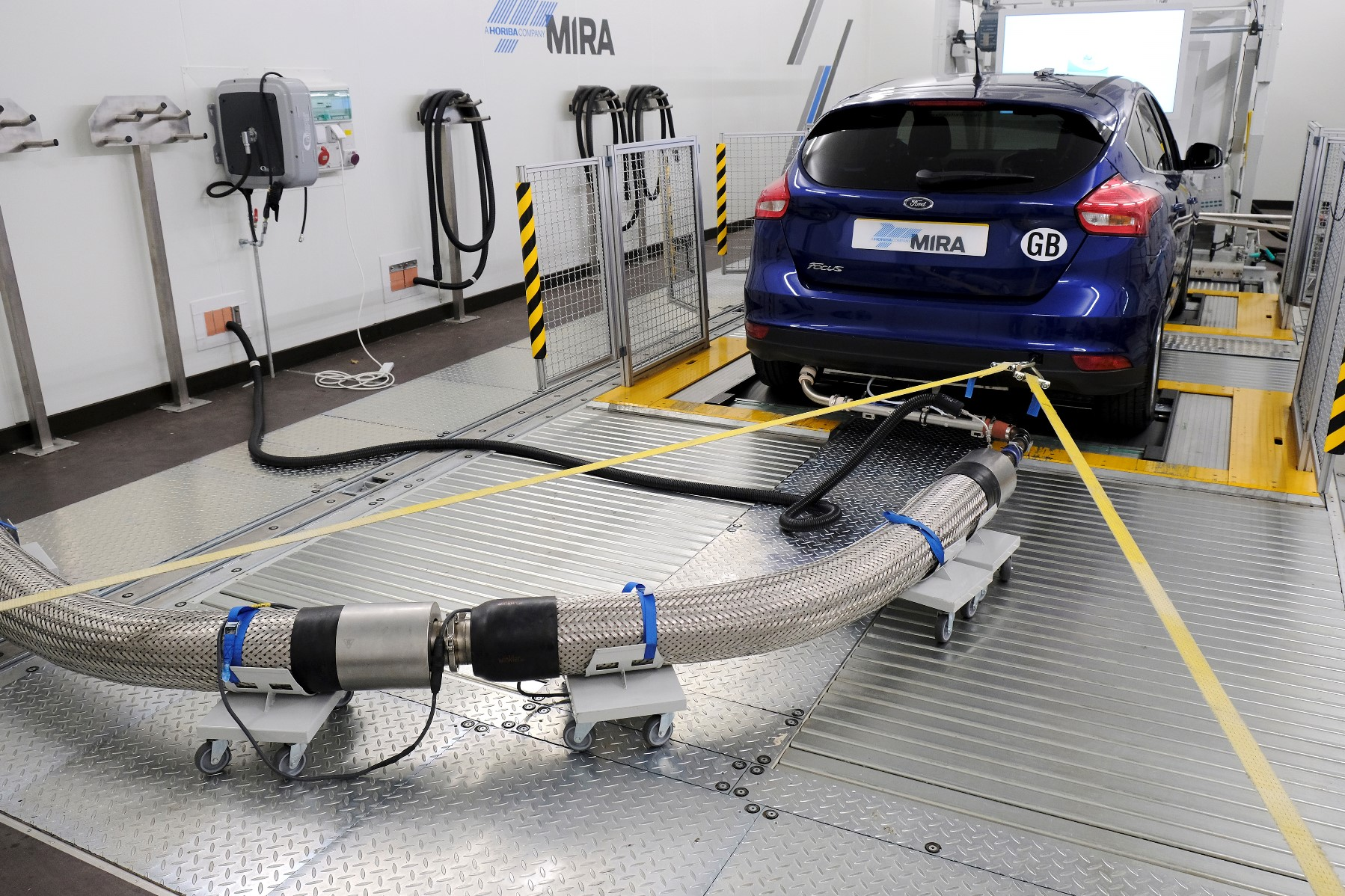 Climatic Test Cell at Advanced Emission Test Centre at HORIBA MIRA