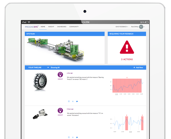 Cloud based condition monitoring software