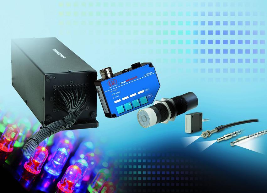 Colour recognition sensors