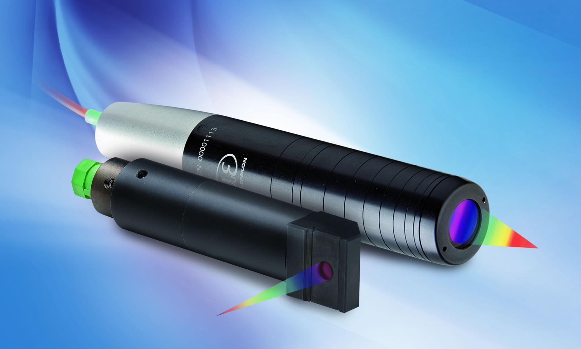 Compact confocal sensors