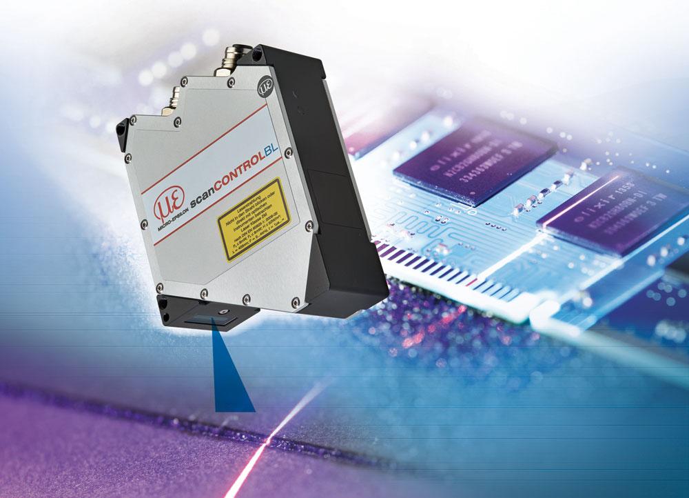 Compact laser profile sensor