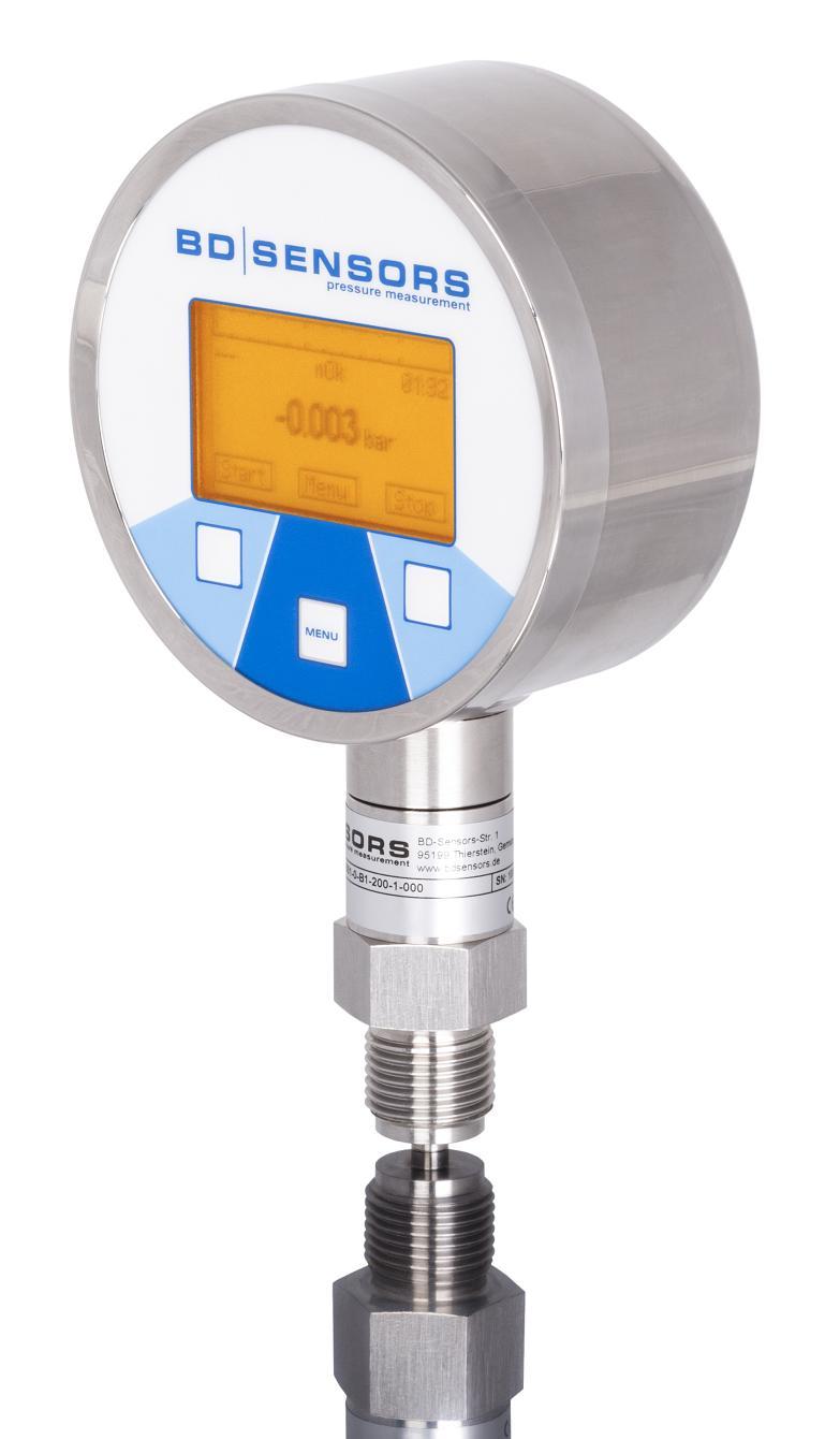 DL01 digital pressure gauge
