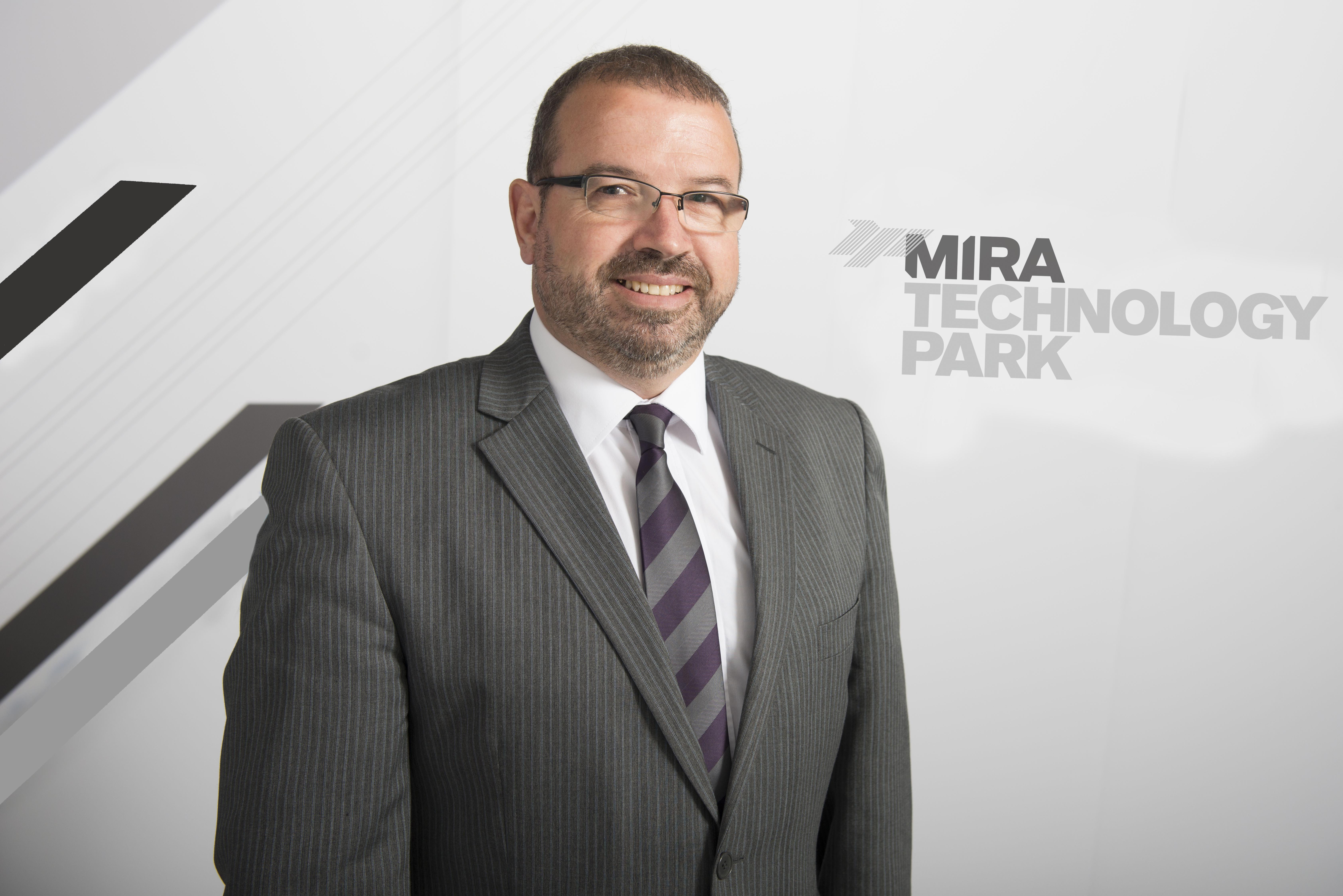 Dave Hockton of MIRA Technology Park
