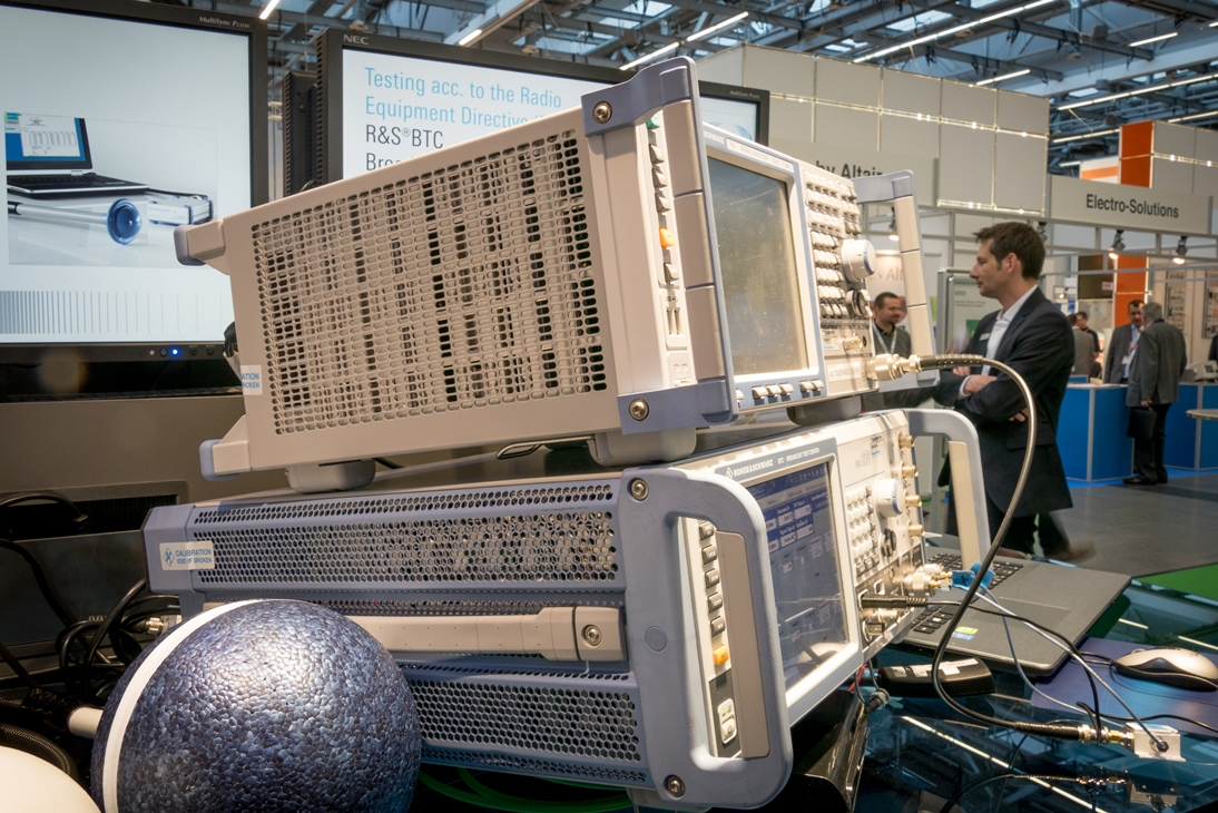 EMC equipment on show at EMV 2017 event