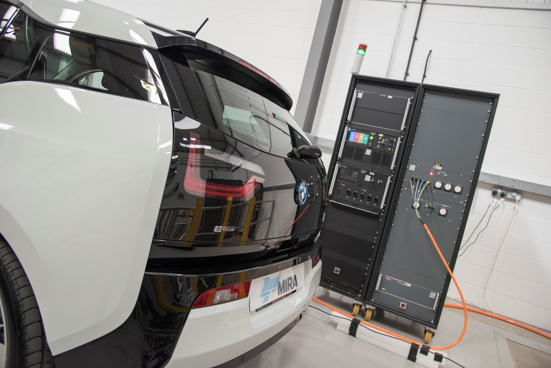 EMC testing technology for plug-in vehicles