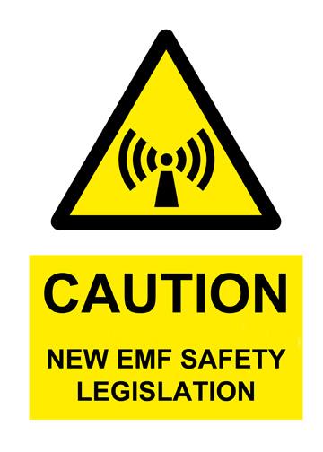EMF warning sign