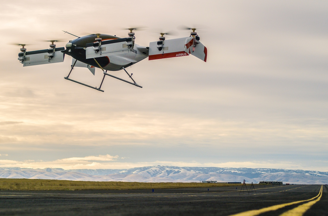 Electric autonomous Vahana aircraft from Airbus makes test flight