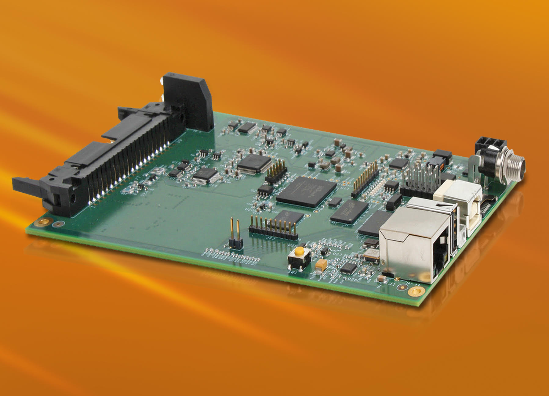 Embedded data acquisition module with ARM processor