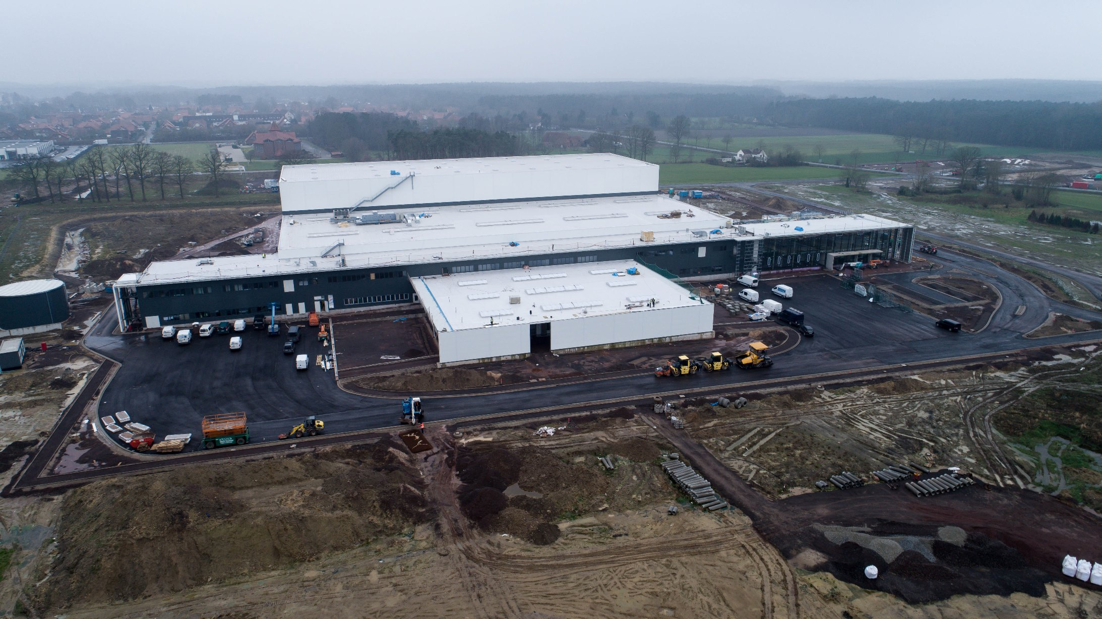 Energy efficient Harting European Distribution Centre