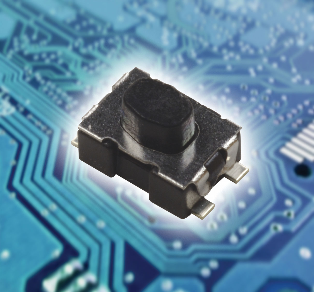 Environmentally protected tactile switches for PCBs