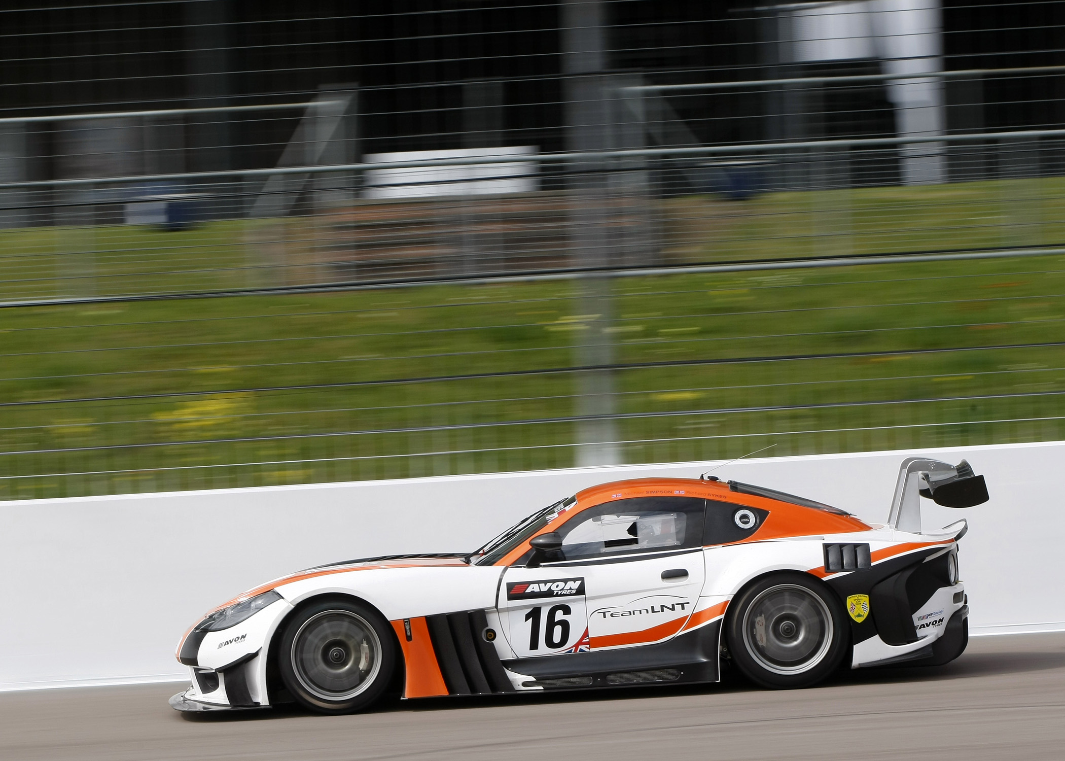 Exhaust gas pressure sensors used on Ginetta cars