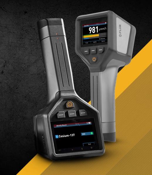 FLIR radiation detection instrument