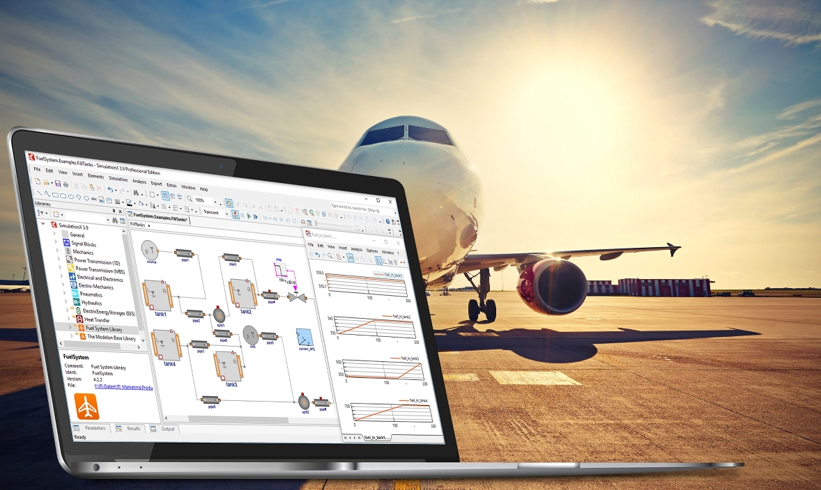 Fuel System Library to be integrated in SimulationX software