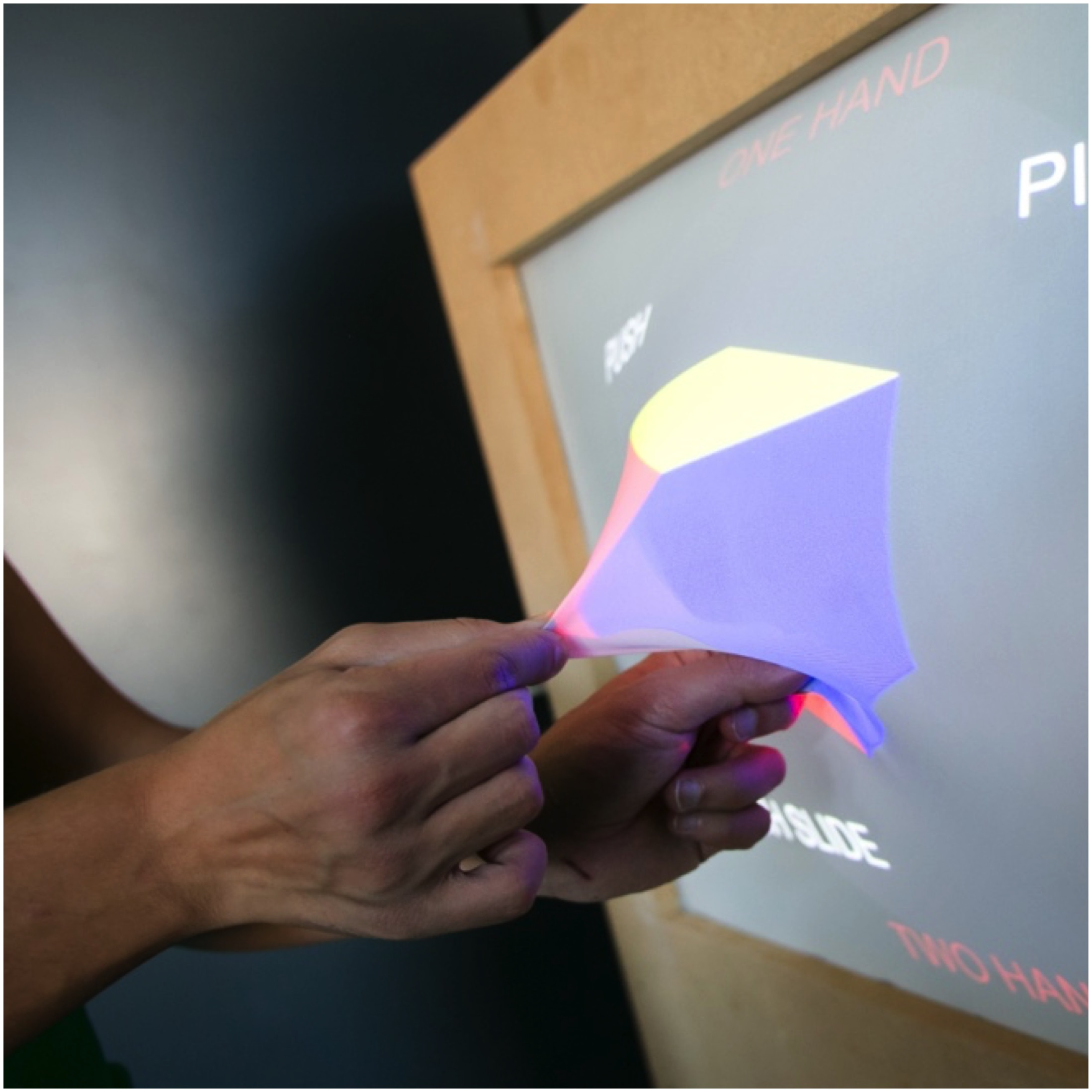 GHOST deformable shape changing screen