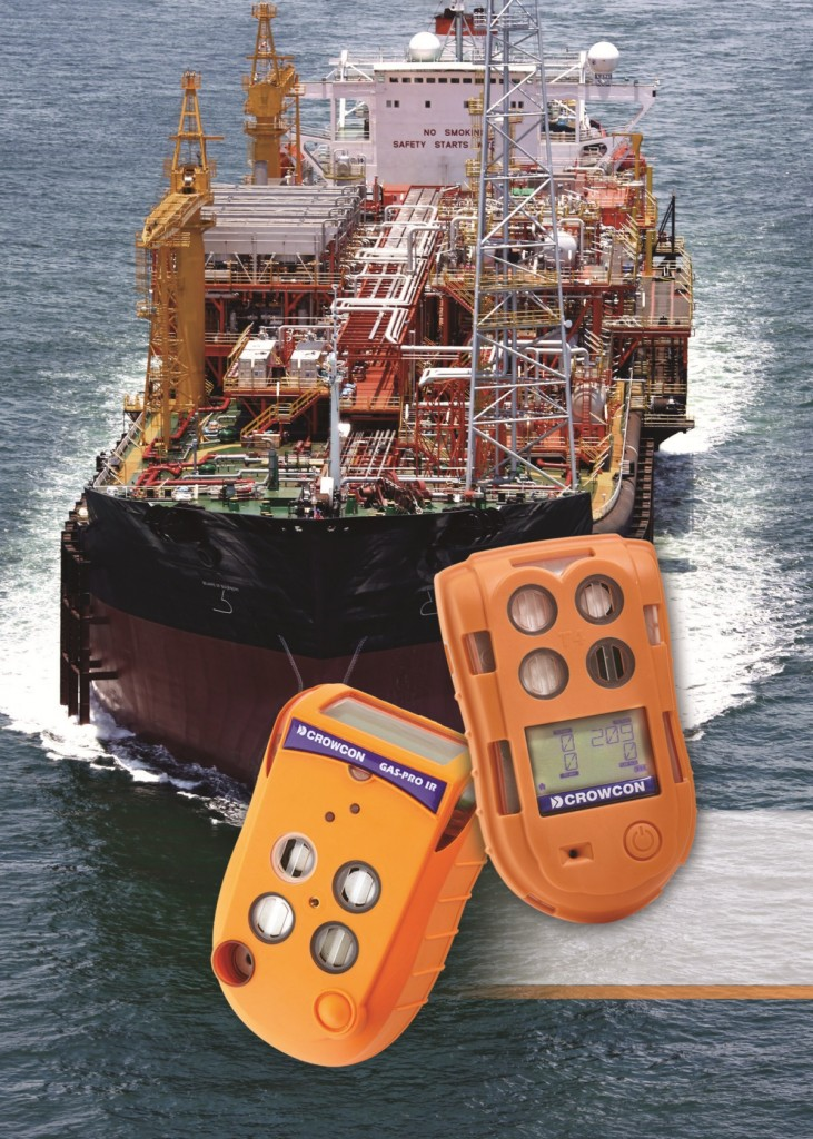 On board boat gas alarms and gas detectors