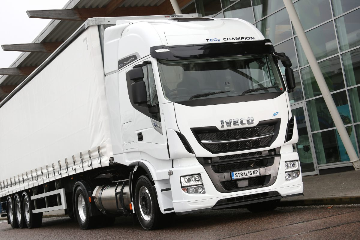 Gas powered Iveco Stralis