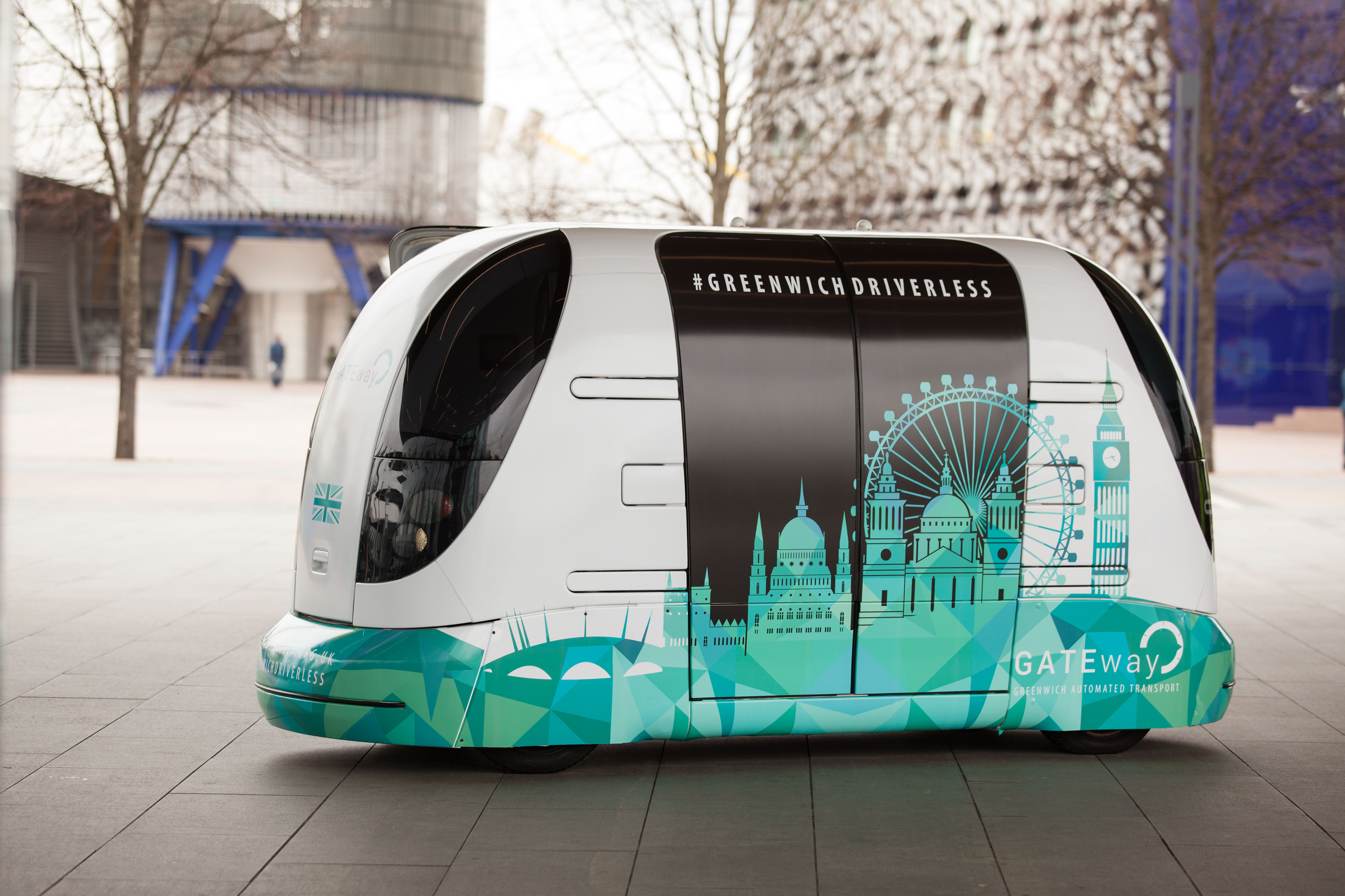 Gateway driverless vehicle