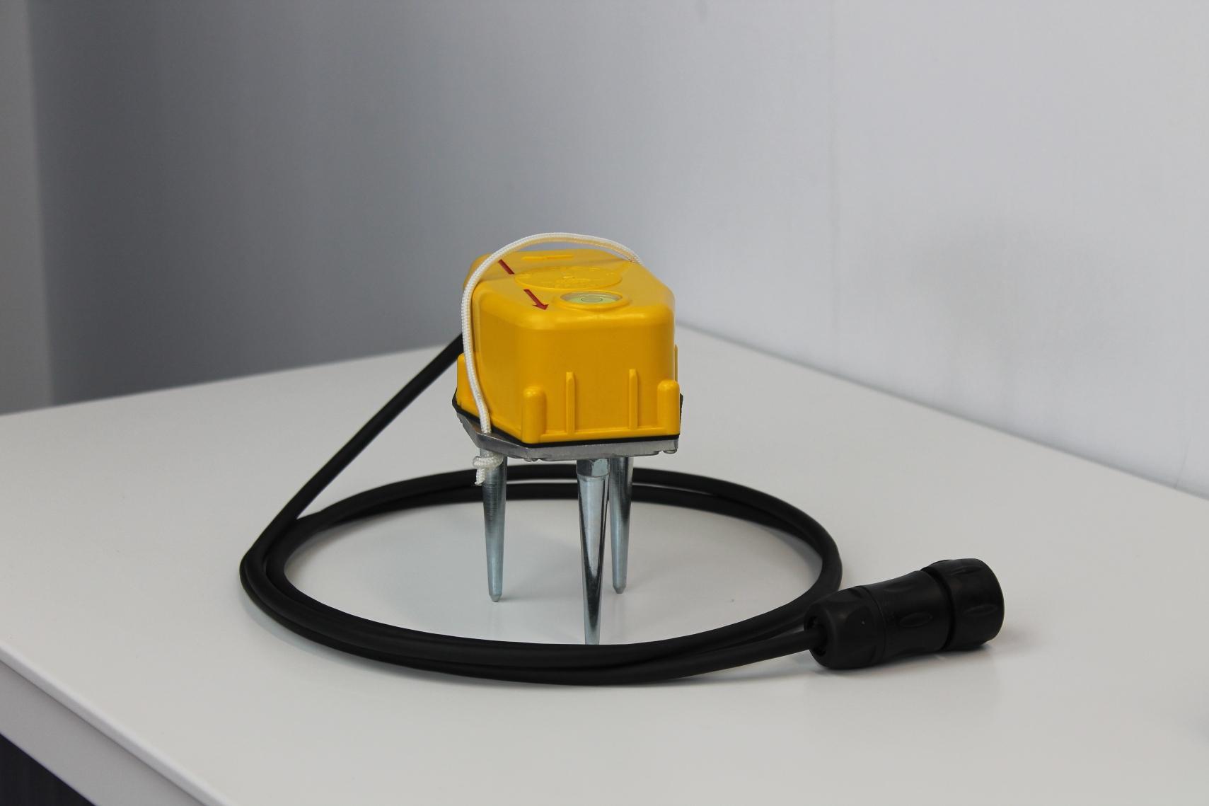 Ground vibration sensor