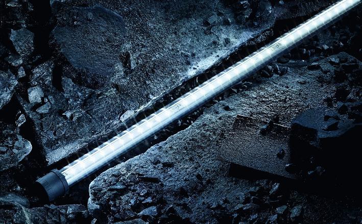 Harsh environment tubular LED fittings