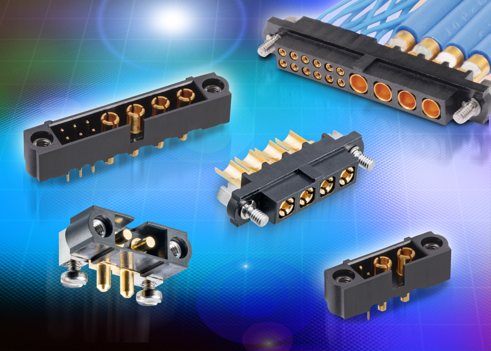 Harwin connectors for use in high reliability applications