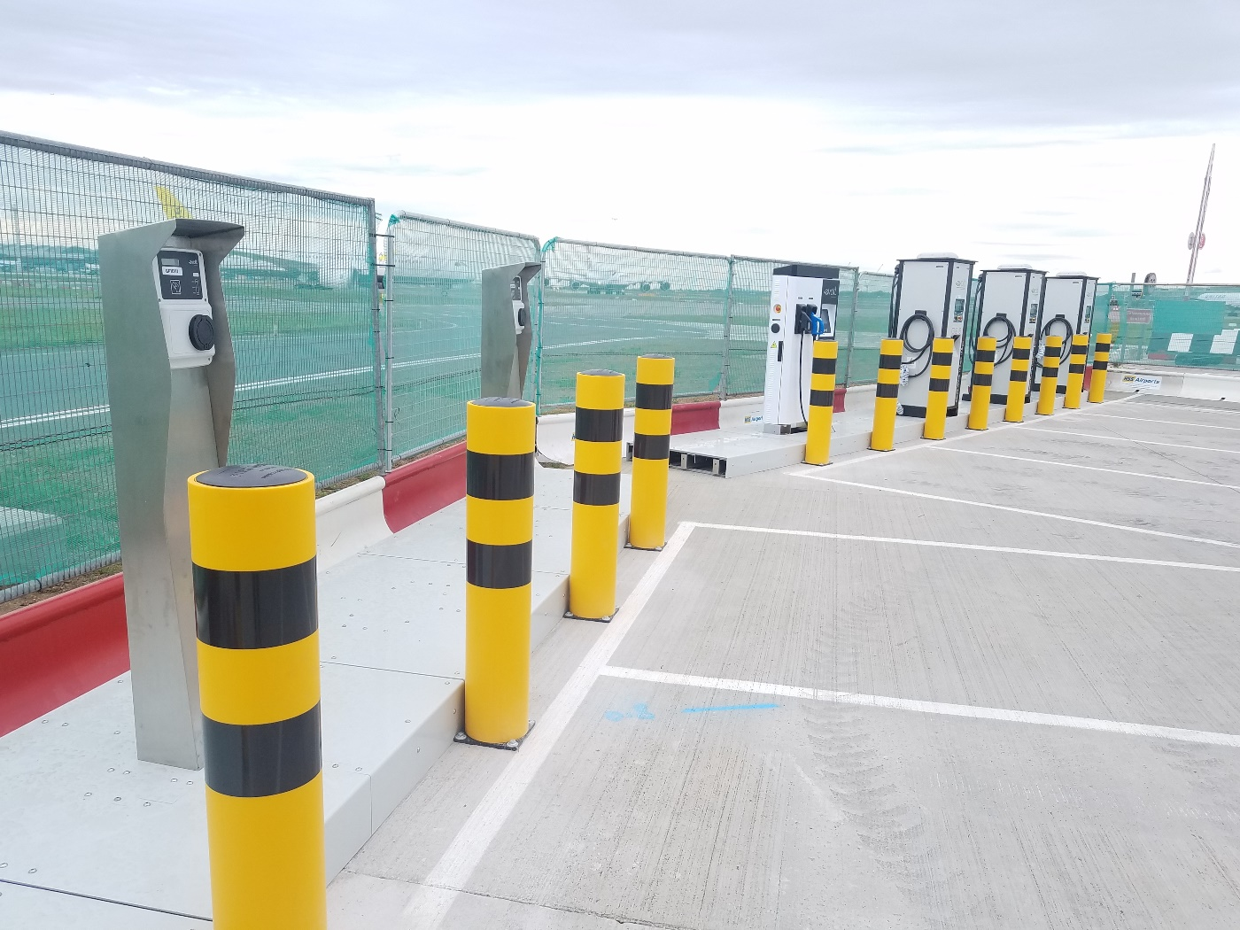 Heathrow airport rapid chargers