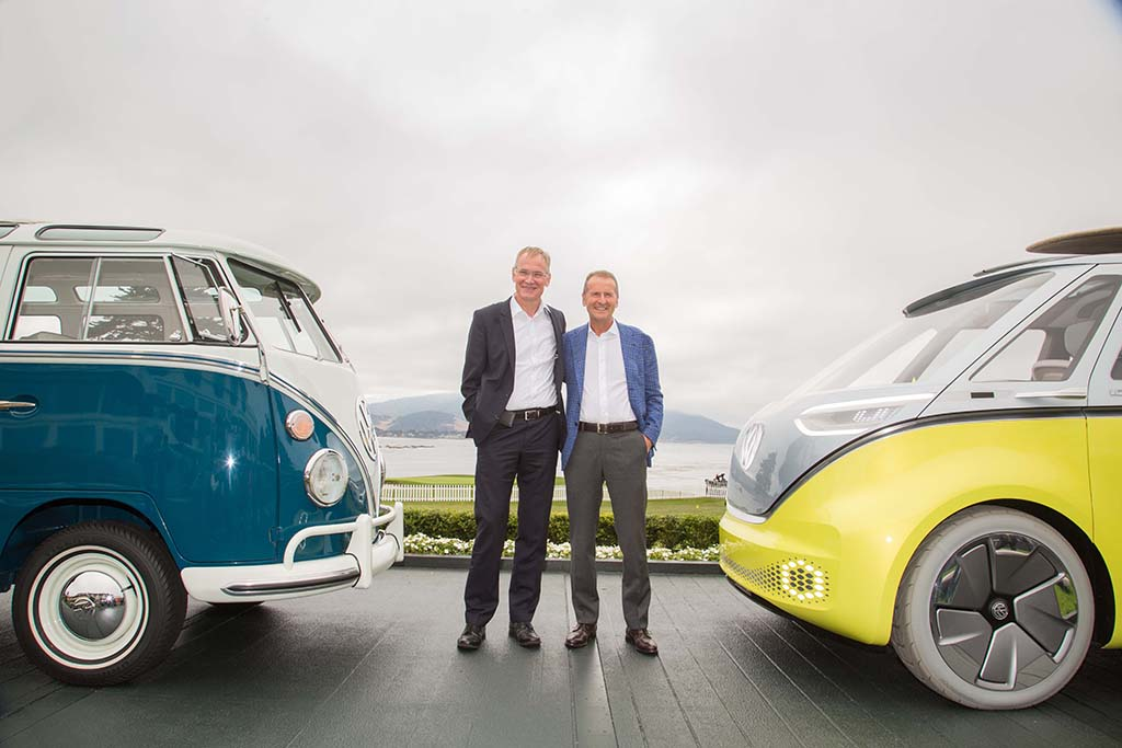 ID Buzz electric micro bus from VW