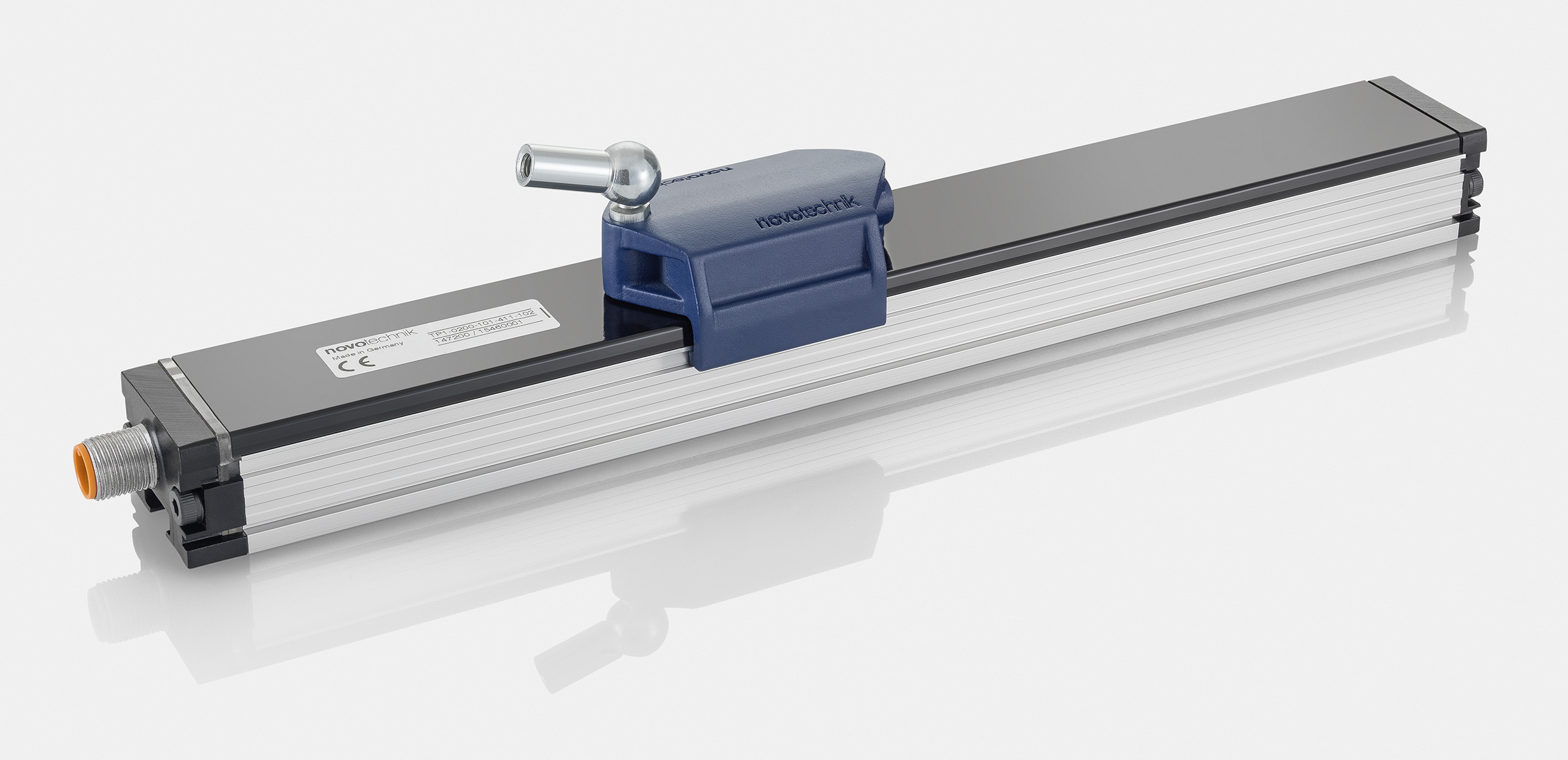 Inductive linear sensor for high speed applications
